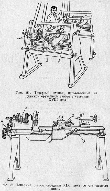 Пристрій токарного верстата